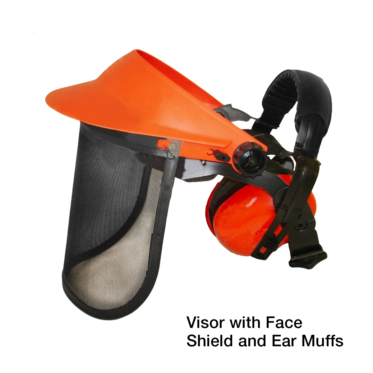Face Shield and Ear Muffs